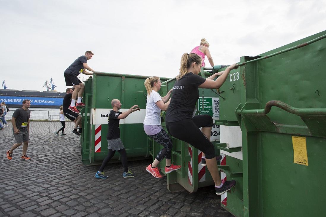 Happy Dumbster   Urban Challenge Celle